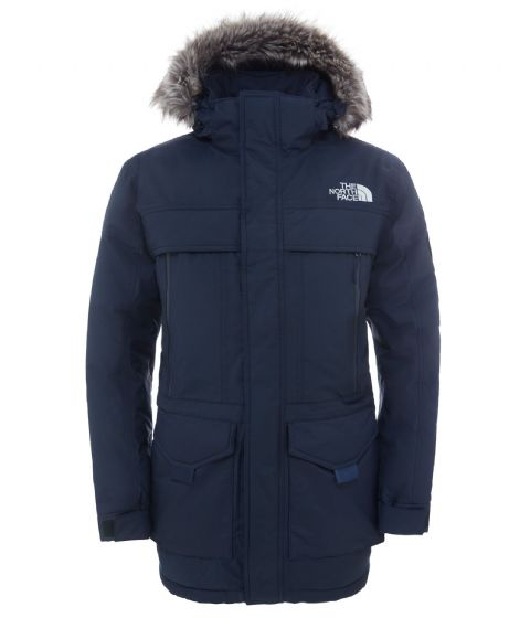 SALE!! The North Face Mens McMurdo Parka - Urban Navy - Down Filled